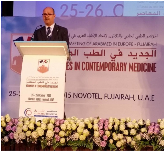 Mr Said Alhadi director of the Department of Health Arab Leage